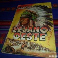 Coleccionismo Álbum: ÁLBUM LEJANO OESTE Nº 1 COMPLETO 288 CROMOS. EDICIONES GENERALES. REGALO AVENTURAS DE BUFFALO BILL.. Lote 129433931
