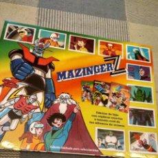 Collezionismo Álbum: MAZINGER Z EDICION DE LUJO DE REPLICAS EXACTAS DE LOS ALBUMES DE CROMOS,EDICION LIMITADA PARA COLECC. Lote 193416420