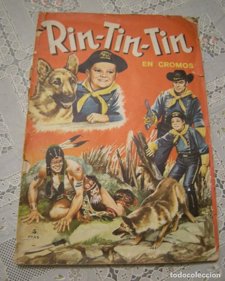 RIN-TIN-TIN ALBUM DE CROMOS COMPLETO. VER DESCRIPCION Y FOTOS (Coleccionismo - Cromos y Álbumes - Álbumes Completos)