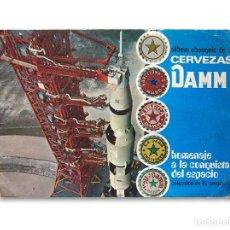 Coleccionismo Álbum: ÁLBUM CERVEZAS DAMM - HOMENAJE A LA CONQUISTA DEL ESPACIO - 82 CROMOS - 1970. Lote 130160039