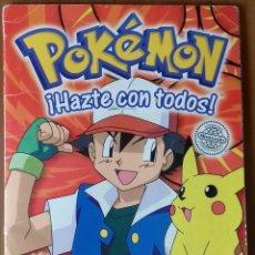Coleccionismo Álbum: ALBUM COMPLETO POKEMON. Lote 130211031