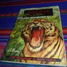 Coleccionismo Álbum: ZOOLOGÍA EL MUNDO DE LOS ANIMALES COMPLETO 192 CROMOS. FERCA 1961. . Lote 130709279