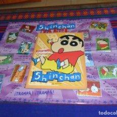 Coleccionismo Álbum: CON PÓSTER, ¡CROMETE, CROMETE! SHINCHAN SHIN CHAN COMPLETO. PANINI 1992. BUEN ESTADO.. Lote 130774292