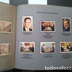 Coleccionismo Álbum: ?? ÁLBUM DE CROMOS DIE WELT IN BILDERN. COMPLETO AJEDREZ .... Lote 130805400