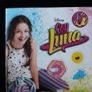 Coleccionismo Álbum: ALBUM SOY LUNA. DISNEY. PANINI 2016. COLECCIÓN COMPLETA . CROMOS PEGADOS. Lote 130830768