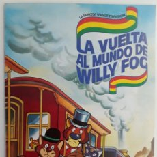 Coleccionismo Álbum: ALBUM LA VUELTA AL MUNDO DE WILLY FOC (COMPLETO) DANONE 1983. Lote 131081588