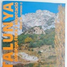 Coleccionismo Álbum: ALBUM CATALUNYA: PAISATGE, FLORA I VEGETACIO (COMPLERT) ENCICLOPEDIA CATALANA. Lote 131083364