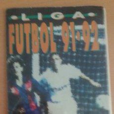 Coleccionismo Álbum: ALBUM DE BIMBO FUTBOL 91-92 CON TODOS LOS COLOCAS. Lote 131098992