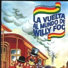 Coleccionismo Álbum - LA VUELTA AL MUNDO DE WILLY FOG - DANONE 96 CROMOS- COMPLETO EN BUEN ESTADO - 131384822