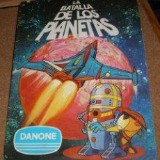 Coleccionismo Álbum - LA BATALLA DE LOS PLANETAS - DANONE 1980 - 94 CROMOS- COMPLETO EN BUEN ESTADO - 131385022
