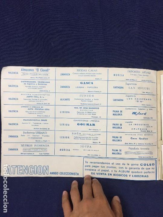 Coleccionismo Álbum: ÁLBUM CONTAMOS CONTIGO COMPLETO ÁLBUM PROMOCIÓN DEPORTIVA COLED AÑO 1968 24,5X35,5 - Foto 3 - 131524010