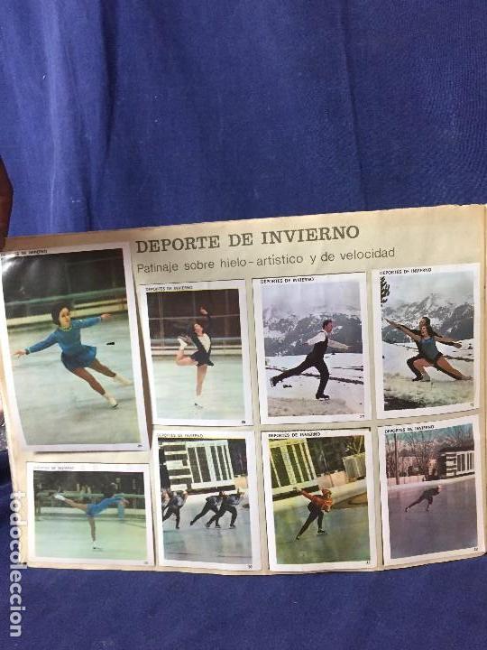 Coleccionismo Álbum: ÁLBUM CONTAMOS CONTIGO COMPLETO ÁLBUM PROMOCIÓN DEPORTIVA COLED AÑO 1968 24,5X35,5 - Foto 7 - 131524010