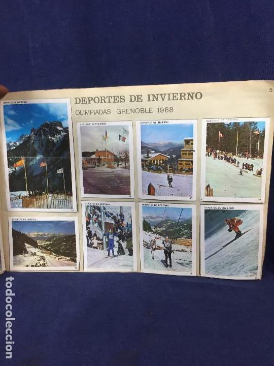 Coleccionismo Álbum: ÁLBUM CONTAMOS CONTIGO COMPLETO ÁLBUM PROMOCIÓN DEPORTIVA COLED AÑO 1968 24,5X35,5 - Foto 8 - 131524010