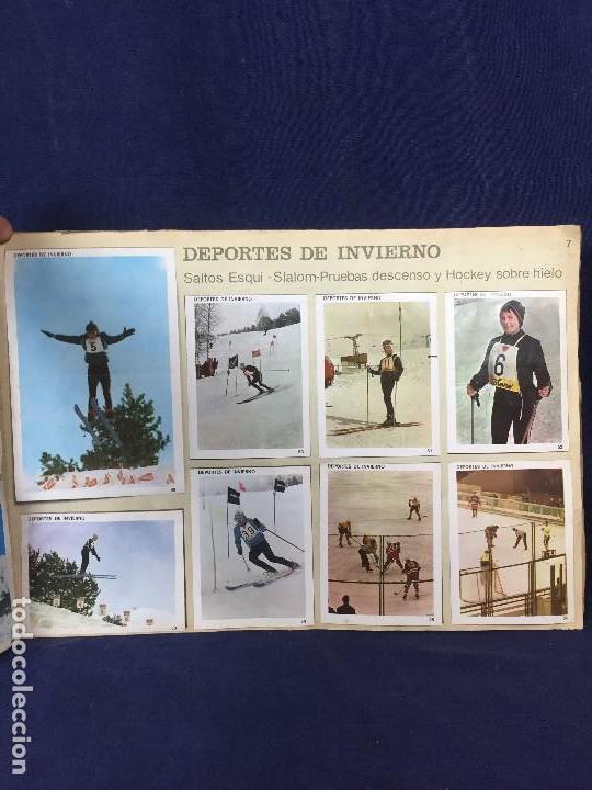 Coleccionismo Álbum: ÁLBUM CONTAMOS CONTIGO COMPLETO ÁLBUM PROMOCIÓN DEPORTIVA COLED AÑO 1968 24,5X35,5 - Foto 10 - 131524010