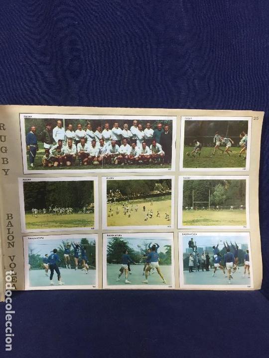 Coleccionismo Álbum: ÁLBUM CONTAMOS CONTIGO COMPLETO ÁLBUM PROMOCIÓN DEPORTIVA COLED AÑO 1968 24,5X35,5 - Foto 29 - 131524010