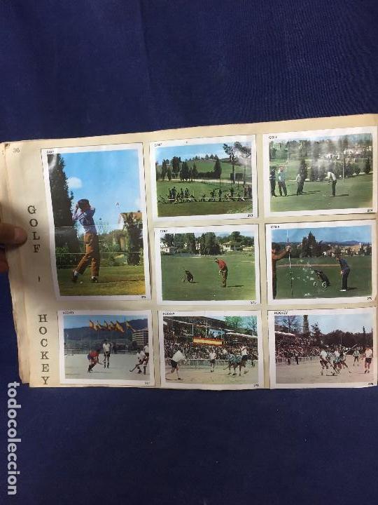 Coleccionismo Álbum: ÁLBUM CONTAMOS CONTIGO COMPLETO ÁLBUM PROMOCIÓN DEPORTIVA COLED AÑO 1968 24,5X35,5 - Foto 42 - 131524010