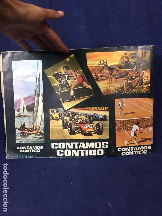 Coleccionismo Álbum: ÁLBUM CONTAMOS CONTIGO COMPLETO ÁLBUM PROMOCIÓN DEPORTIVA COLED AÑO 1968 24,5X35,5 - Foto 50 - 131524010