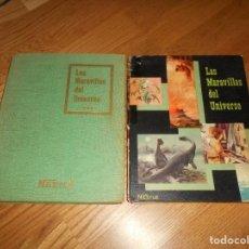 Coleccionismo Álbum: LOTE LAS MARAVILLAS DEL UNIVERSO CHOCOLATES NESTLE COMPLETO 2 ALBUMES. Lote 131753594