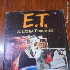 Coleccionismo Álbum: ALBUM DE CROMOS E.T EL EXTRATERRESTRE- EDICIONES ESTE 1982- COMPLETO. Lote 131798018