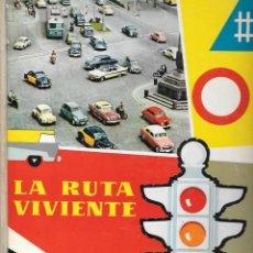 Coleccionismo Álbum: LIBRO ALBUM COMPLETO LA RUTA VIVIENTE DE NESTLÉ - 1960. Lote 134833727