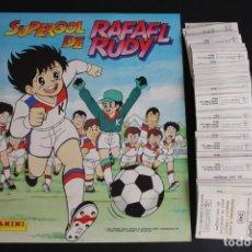Coleccionismo Álbum: 'SUPERGOL DE RAFAEL RUDY' (COLECCIÓN COMPLETA SIN PEGAR). Lote 132202654