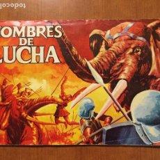Coleccionismo Álbum: ALBUM DE CROMOS HOMBRES DE LUCHA. COMPLETO.. Lote 132221734
