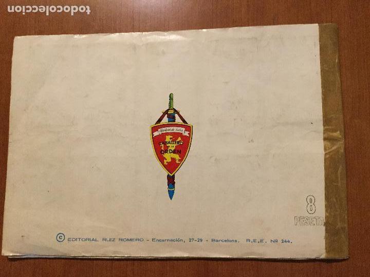 Coleccionismo Álbum: ALBUM DE CROMOS HOMBRES DE LUCHA. COMPLETO. - Foto 2 - 132221734