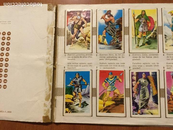 Coleccionismo Álbum: ALBUM DE CROMOS HOMBRES DE LUCHA. COMPLETO. - Foto 3 - 132221734