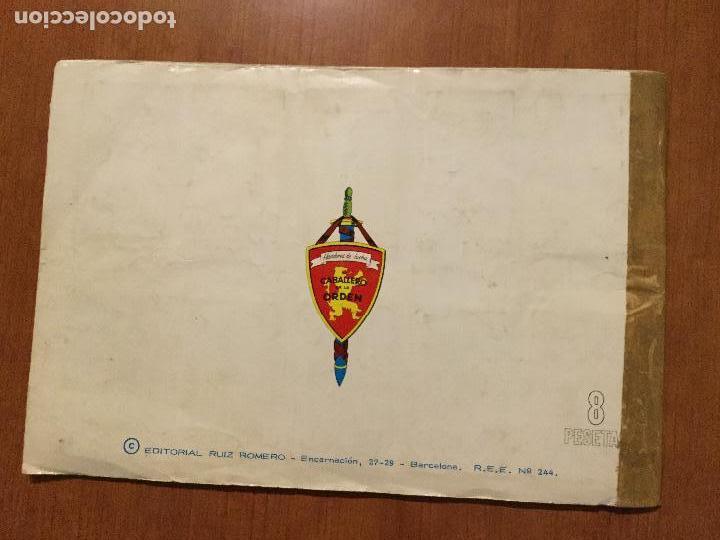 Coleccionismo Álbum: ALBUM DE CROMOS HOMBRES DE LUCHA. COMPLETO. - Foto 6 - 132221734