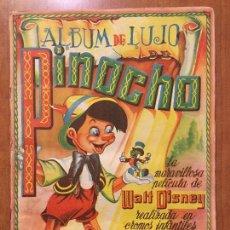 Coleccionismo Álbum: ALBUM DE CROMOS PINOCHO. EDICION LUJO FHER. COMPLETO.. Lote 132222670