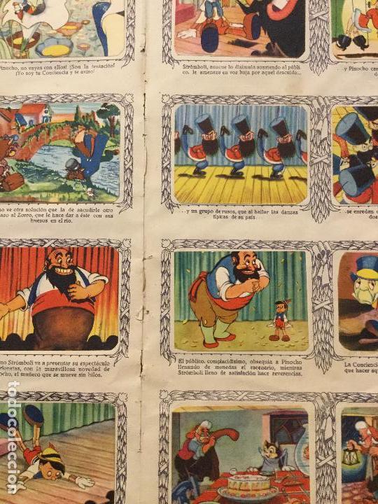 Coleccionismo Álbum: ALBUM DE CROMOS PINOCHO. EDICION LUJO FHER. COMPLETO. - Foto 7 - 132222670