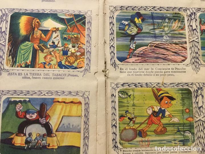 Coleccionismo Álbum: ALBUM DE CROMOS PINOCHO. EDICION LUJO FHER. COMPLETO. - Foto 8 - 132222670