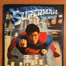 Coleccionismo Álbum: ALBUM COMPLETO SUPERMAN, THE MOVIE. COMPLETO.. Lote 132223782