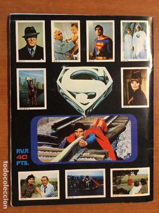 Coleccionismo Álbum: ALBUM COMPLETO SUPERMAN, THE MOVIE. COMPLETO. - Foto 2 - 132223782