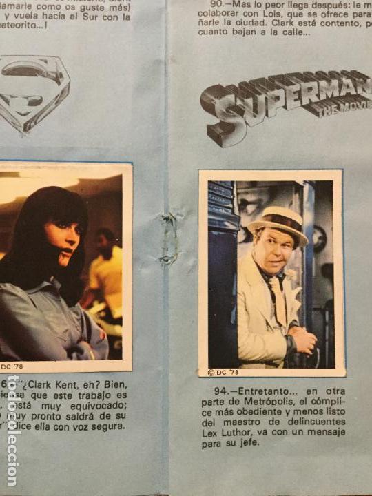 Coleccionismo Álbum: ALBUM COMPLETO SUPERMAN, THE MOVIE. COMPLETO. - Foto 3 - 132223782