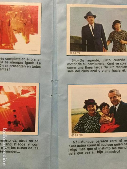 Coleccionismo Álbum: ALBUM COMPLETO SUPERMAN, THE MOVIE. COMPLETO. - Foto 4 - 132223782