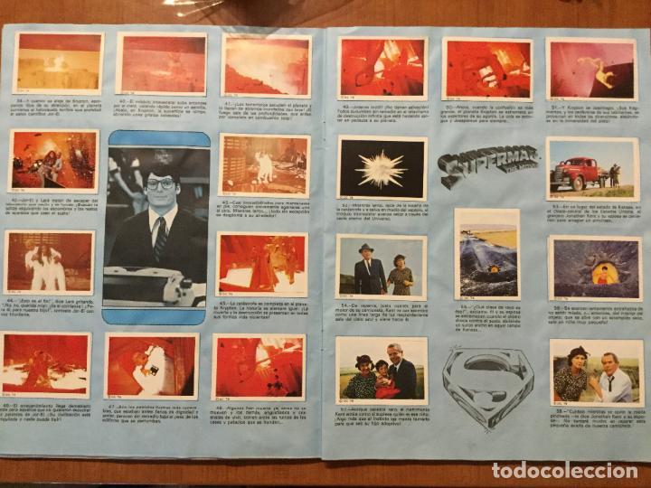 Coleccionismo Álbum: ALBUM COMPLETO SUPERMAN, THE MOVIE. COMPLETO. - Foto 5 - 132223782