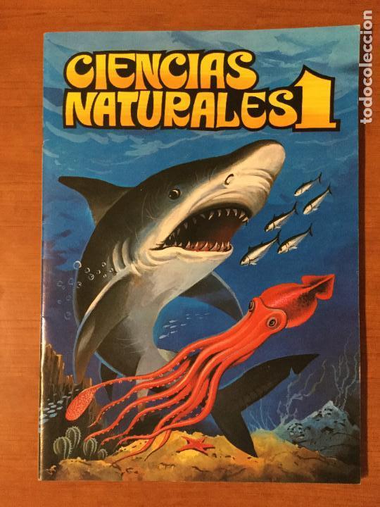 ALBUM DE CROMOS COMPLETO CIENCIAS NATURALES 1. BUEN ESTADO. AÑO 1982 (Coleccionismo - Cromos y Álbumes - Álbumes Completos)
