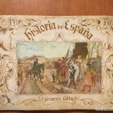 Coleccionismo Álbum: ALBUM DE CROMOS COMPLETO HISTORIA DE ESPAÑA. BUEN ESTADO.. Lote 132224338