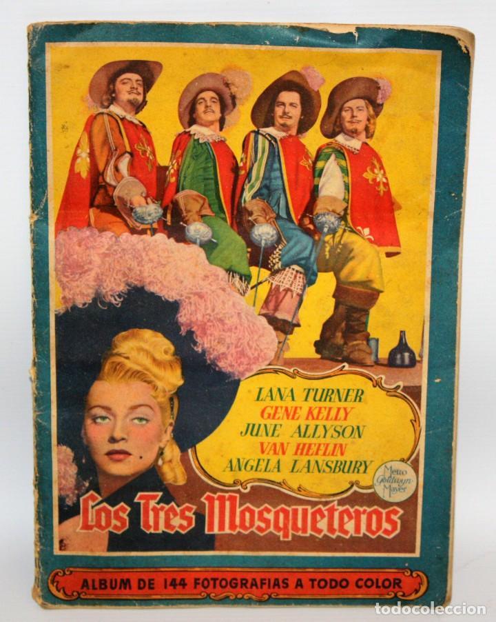 ALBUM LOS TRES MOSQUETEROS. EDITORIAL BRUGUERA. AÑO 1952. COMPLETO 144 CROMOS. (Coleccionismo - Cromos y Álbumes - Álbumes Completos)
