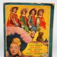 Coleccionismo Álbum: ALBUM LOS TRES MOSQUETEROS. EDITORIAL BRUGUERA. AÑO 1952. COMPLETO 144 CROMOS. . Lote 132292194