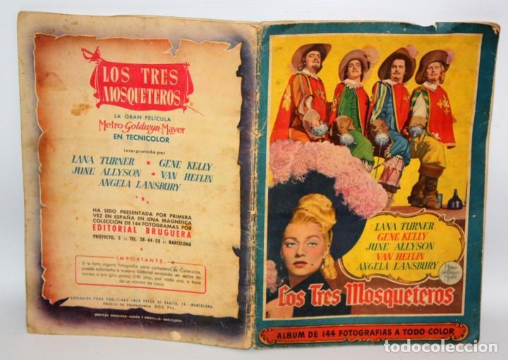 Coleccionismo Álbum: ALBUM LOS TRES MOSQUETEROS. EDITORIAL BRUGUERA. AÑO 1952. COMPLETO 144 CROMOS. - Foto 2 - 132292194