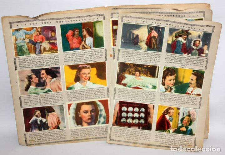 Coleccionismo Álbum: ALBUM LOS TRES MOSQUETEROS. EDITORIAL BRUGUERA. AÑO 1952. COMPLETO 144 CROMOS. - Foto 5 - 132292194