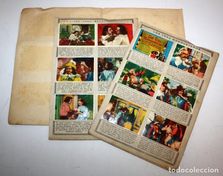 Coleccionismo Álbum: ALBUM LOS TRES MOSQUETEROS. EDITORIAL BRUGUERA. AÑO 1952. COMPLETO 144 CROMOS. - Foto 6 - 132292194