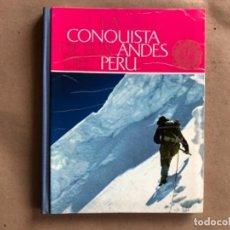 Coleccionismo Álbum: LA CONQUISTA DE LOS ANDES DEL PEÚ. ÁLBUM DE CROMOS COMPLETO. NESTLÉ 1963.. Lote 132323906