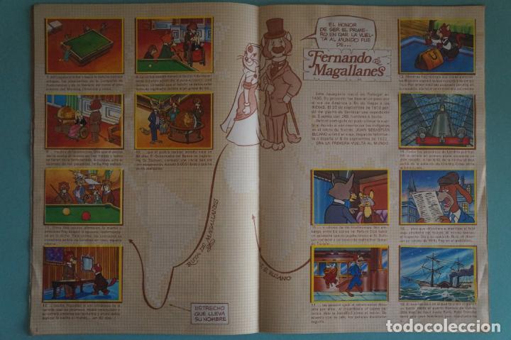 Coleccionismo Álbum: ÁLBUM COMPLETO DE LA VUELTA AL MUNDO DE WILLY FOG AÑO 1983 DE DANONE - Foto 3 - 132451226