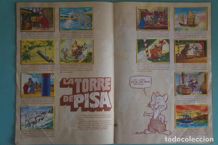Coleccionismo Álbum: ÁLBUM COMPLETO DE LA VUELTA AL MUNDO DE WILLY FOG AÑO 1983 DE DANONE - Foto 5 - 132451226