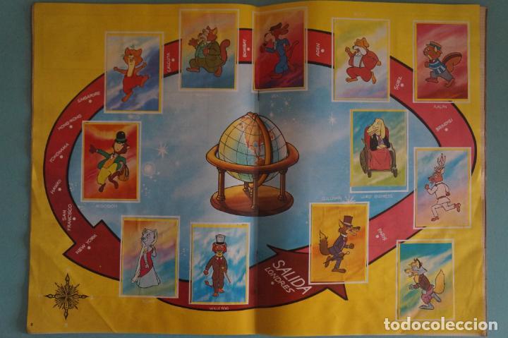 Coleccionismo Álbum: ÁLBUM COMPLETO DE LA VUELTA AL MUNDO DE WILLY FOG AÑO 1983 DE DANONE - Foto 6 - 132451226