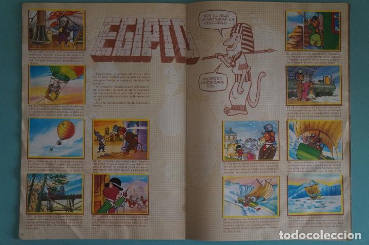Coleccionismo Álbum: ÁLBUM COMPLETO DE LA VUELTA AL MUNDO DE WILLY FOG AÑO 1983 DE DANONE - Foto 7 - 132451226
