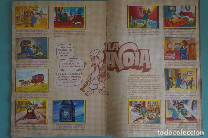 Coleccionismo Álbum: ÁLBUM COMPLETO DE LA VUELTA AL MUNDO DE WILLY FOG AÑO 1983 DE DANONE - Foto 9 - 132451226